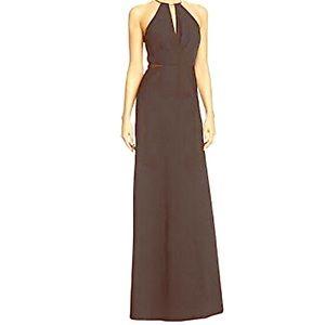 Black Long Halter Dress - NWT JS BOUTIQUES Size 2